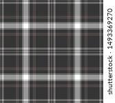 plaid pattern seamless vector... | Shutterstock .eps vector #1493369270