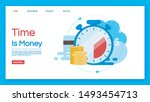 time is money landing page...