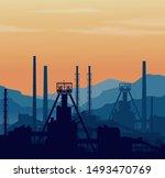 mineral fertilizers plant over... | Shutterstock . vector #1493470769