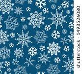 winter wonderland delicate...   Shutterstock .eps vector #1493526080