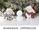 Two Little Snowmen Build A...