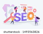 website traffic  web page... | Shutterstock .eps vector #1493563826