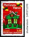 france   circa 1998  a stamp... | Shutterstock . vector #149371193