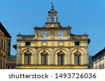 mayor building historical...   Shutterstock . vector #1493726036