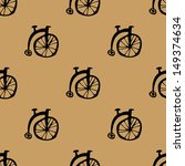 Cute Old Cycles Pattern