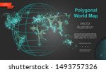 global geography and... | Shutterstock .eps vector #1493757326