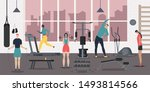 sport club people composition... | Shutterstock .eps vector #1493814566