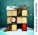 Fantasy Winter Holiday Greetin...