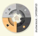 gray circle website homepage... | Shutterstock .eps vector #149386910