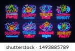 big collectin neon signs for... | Shutterstock .eps vector #1493885789