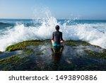 Yoga Woman Meditation At The...