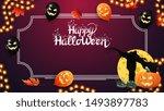 halloween template for your... | Shutterstock .eps vector #1493897783