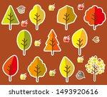 vector illustration. autumn... | Shutterstock .eps vector #1493920616