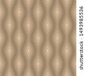 the geometric seamless pattern. ... | Shutterstock .eps vector #1493985536
