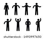 stick figure man illustration ... | Shutterstock .eps vector #1493997650
