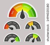 credit score indicators with...   Shutterstock .eps vector #1494020180