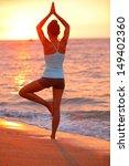 Yoga Meditation Woman...