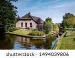Giethoorn Netherlands  Iew Of...