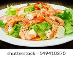 Salad Of Shrimp  Mixed Greens