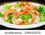 Salad Of Shrimp  Mixed Greens