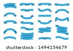 ribbons collection. premium... | Shutterstock .eps vector #1494154679