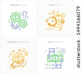 colorful flat design icon...   Shutterstock .eps vector #1494166079