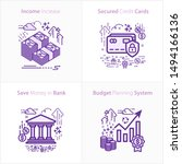 business and finance icon set... | Shutterstock .eps vector #1494166136