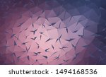 vector background from polygons ... | Shutterstock .eps vector #1494168536