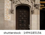 elements of architecture of... | Shutterstock . vector #1494185156