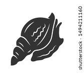 Triton Glyph Icon. Large...
