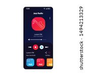 jazz radio smartphone interface ...