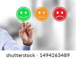 customer survey feedback  a... | Shutterstock . vector #1494263489
