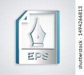 paper cut eps file document.... | Shutterstock .eps vector #1494266813