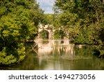 Small Bridge On The La Meuse...