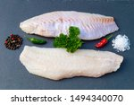 delicious red snapper fish filet