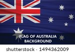 Vector Waving Flag Of Australia ...