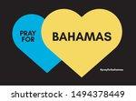 pray for bahamas hurricane... | Shutterstock .eps vector #1494378449