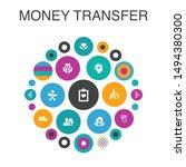 money transfer infographic...