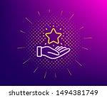 loyalty program line icon....   Shutterstock .eps vector #1494381749