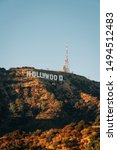 view of the hollywood sign from ... | Shutterstock . vector #1494512483