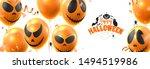 happy halloween festive... | Shutterstock .eps vector #1494519986