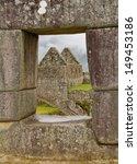 view from window  machu picchu  ...   Shutterstock . vector #149453186