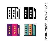 archive logo icon design in...