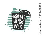 Gin And Tonic Grunge Style...