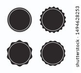 set of blank stamps. great for... | Shutterstock .eps vector #1494628253