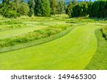 golf course with gorgeous green | Shutterstock . vector #149465300