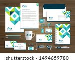 corporate business identity...   Shutterstock .eps vector #1494659780