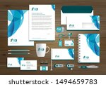 corporate business identity... | Shutterstock .eps vector #1494659783