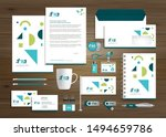 corporate business identity... | Shutterstock .eps vector #1494659786