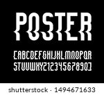 vector of stylized  font and... | Shutterstock .eps vector #1494671633